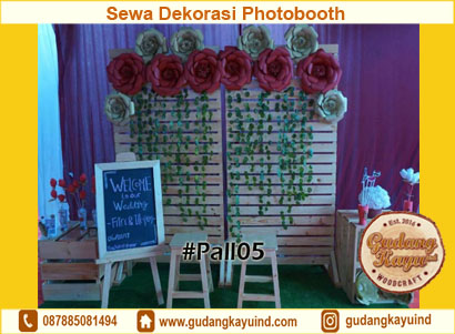 Dekorasi Photobooth Pernikahan