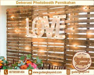 Sewa Dekorasi Photobooth