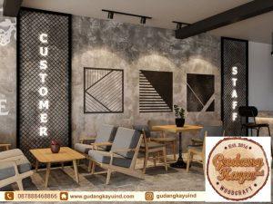 Tempat Bikin Interior Cafe Jakarta
