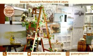 Sewa Dekorasi Photobooth Pernikahan
