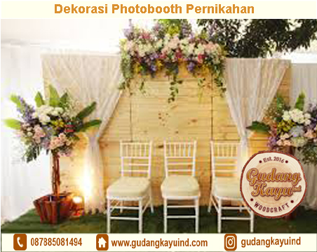 Sewa Dekorasi Photobooth