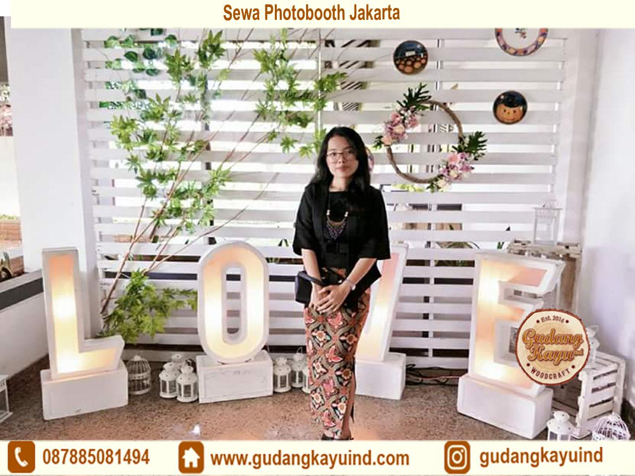 Buat Dekorasi Photobooth Jakarta
