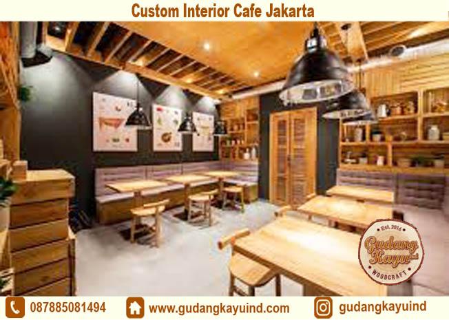 Custom Interior Cafe Jakarta