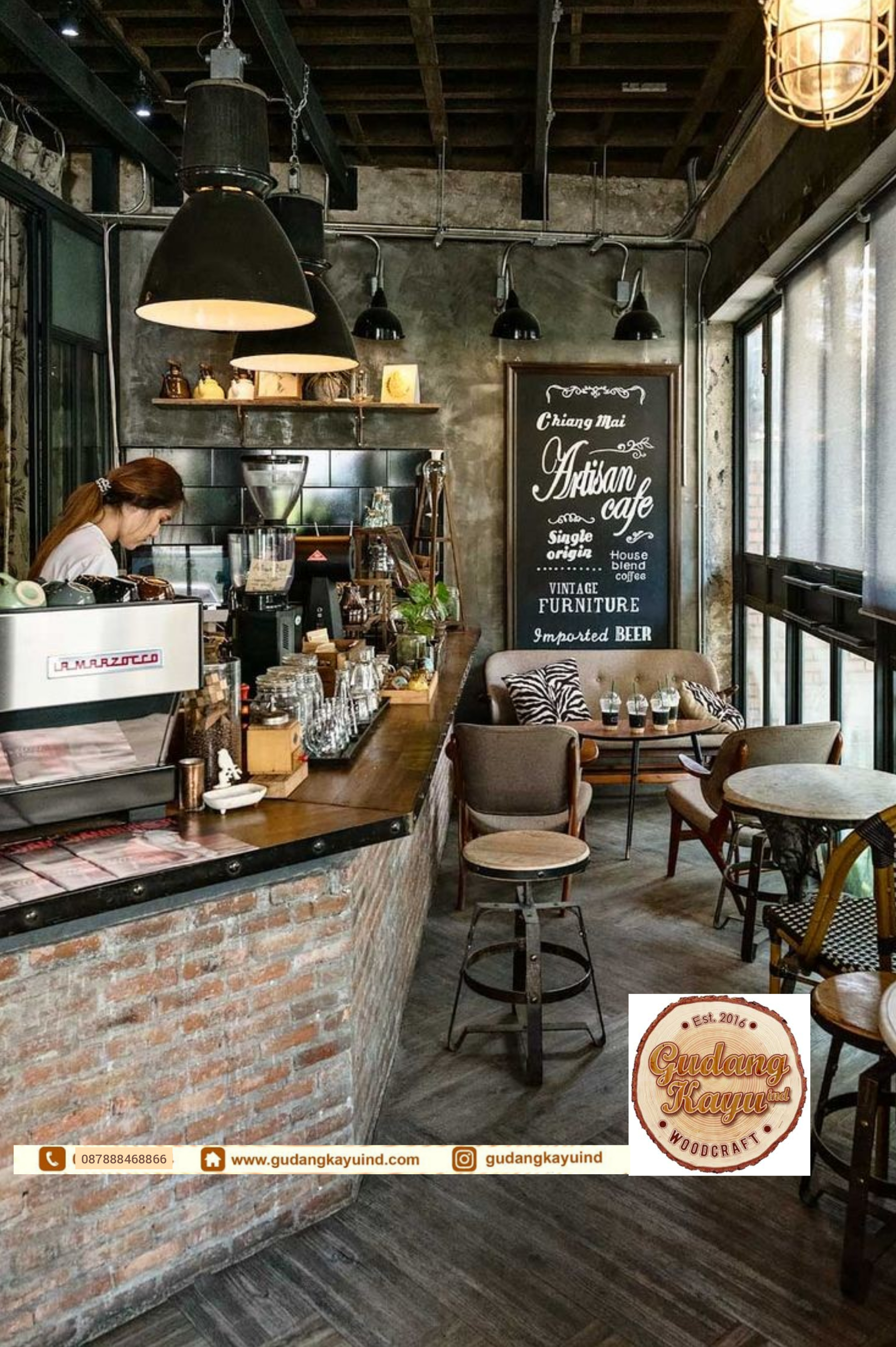 Tempat Pembuatan Interior Cafe Jakarta