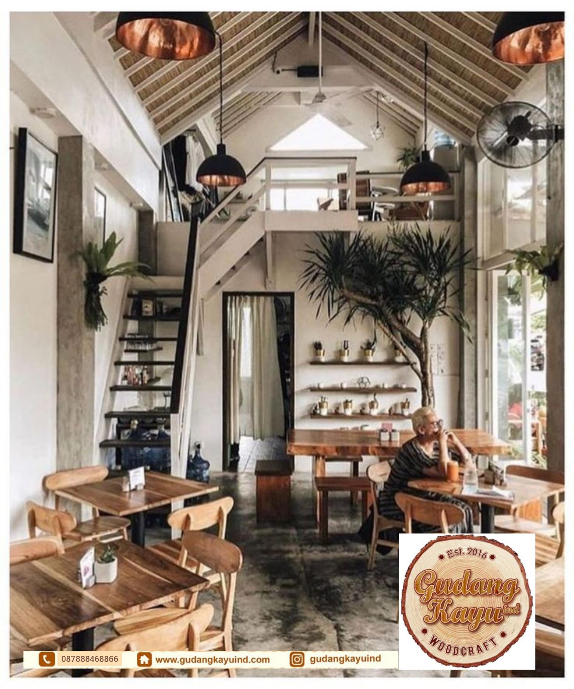 Interior Cafe Jakarta