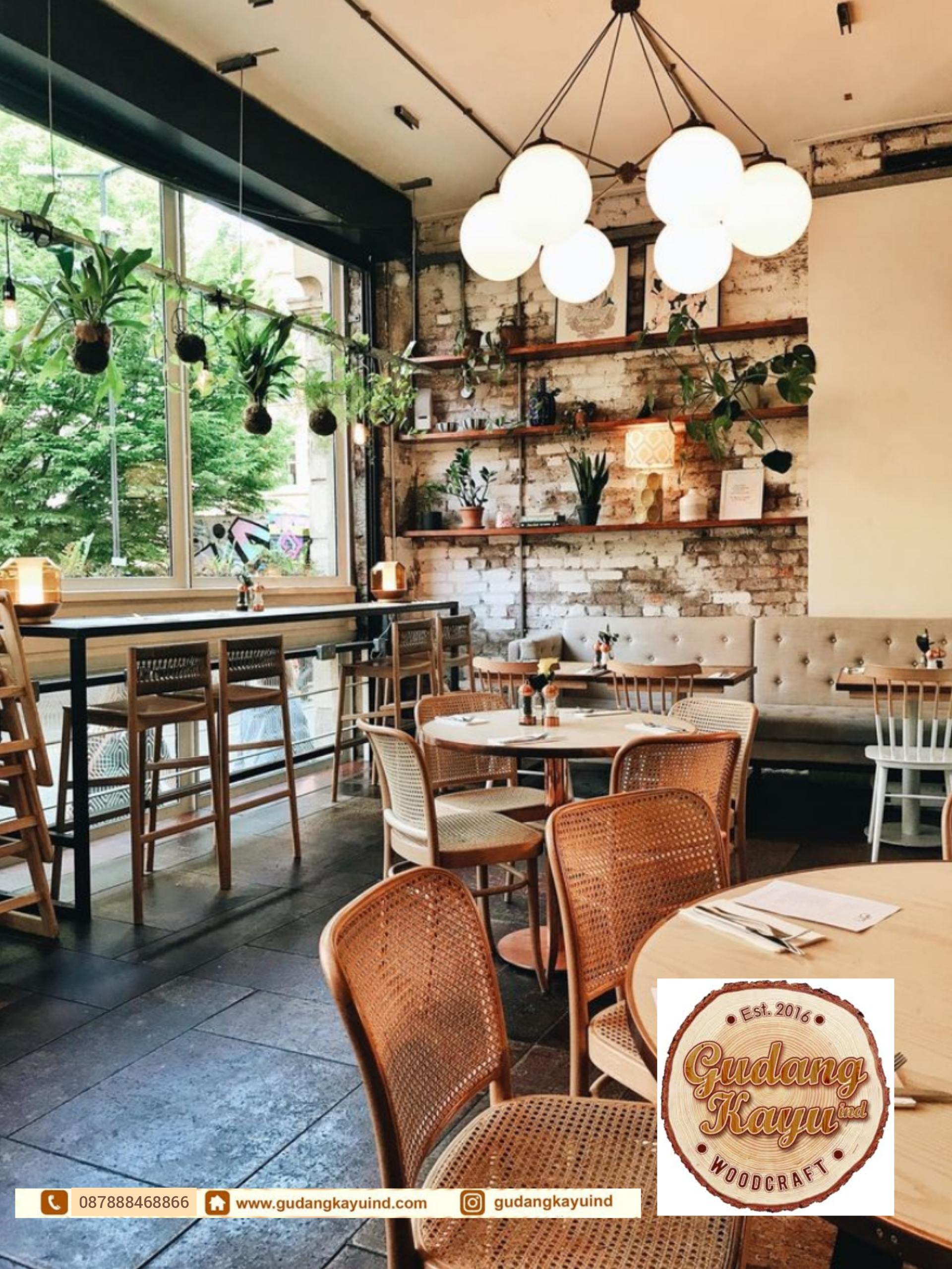 Kontraktor Interior Cafe Jakarta